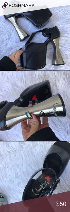 LUICHINY SZ 8 BRATZ STYLE PLATFORM HEELS SHOES The cutest heels Luchiny Shoes
