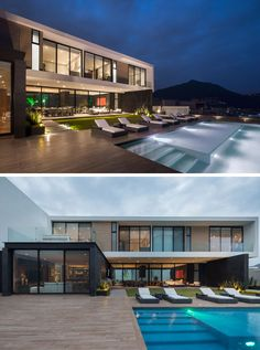 55 Best Mexican Architecture Images Modern Homes Modern Houses - Bc-house-by-glr-arquitectos-is-a-sustainable-solution