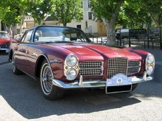 FACEL VEGA- presence, great style, wrap around screen, much smaller than you think and great big hulking donk. What more can you ask?