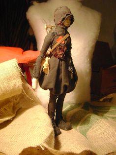 Sculpture-Doll-Kosuka for Valeria Dalmon KSK by ValeriaDalmon
