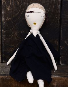 loup charmant collaboration rag doll | jess brown dolls