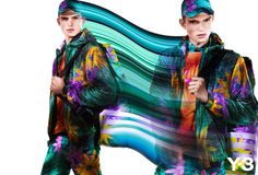 Y-3 SPRING/SUMMER 2013 COLLECTION CAMPAIGN SHOT BY PIERRE DEBUSSCHERE