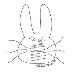 free images of primitive rabbits to paint   whatever you d like to do just click on them and save each to your ...