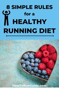 Want to feel your best while running? Then make sure you have a healthy running diet! It doesn't have to be all vegetables (in fact it shouldn't be). Find out what a healthy running diet looks… More Nutritious Meals, Healthy Fats, Healthy Eating, Nutrition For Runners, Diet And Nutrition, Running Diet, Runners Food, Good Health Tips, All Vegetables