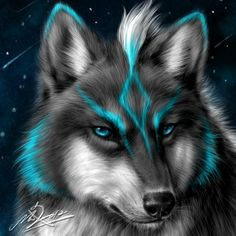 I love this is reminds me on wolf link from Zelda Madara Wallpaper, Wolf Wallpaper, Animal Wallpaper, Anime Wolf, Beautiful Wolves, Animals Beautiful, Fantasy Wolf, Fantasy Art, Fantasy Creatures