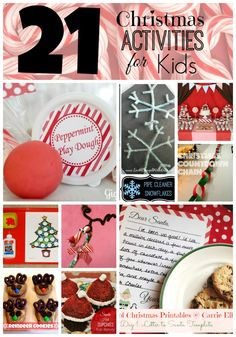 21 Christmas Activities for Kids #Christmas #kidsactivities