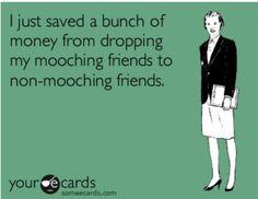 Mooching friends