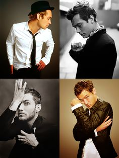 Jude Law. Just about my most favourite celeb in all of the world