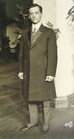 Manuel Quezon early 20th century