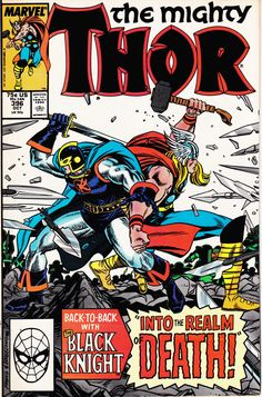 Vintage Comic Book, Marvel Comics, Vintage Comic, Comic Books, Comic, The Mighty Thor, Vol 1 No 396, October 1988, Vintage Comics, Marvel by winterparkcollect on Etsy