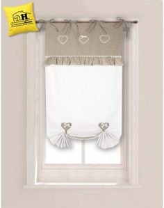 Country and home on pinterest - Tenda finestra bagno ...