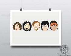 Minimalist Quotes, Minimalist Art, Poster On, Quote Posters, Big Bang Theory Characters, The Inbetweeners, Flight Of The Conchords, Father Ted, Only Fools And Horses