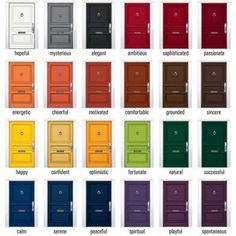 Front Door Colors Delectable All 24 Colors Of Our Nonfade Front Door Paint Are Now Available Inspiration Design