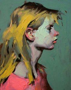 "Daily Paintworks - ""Grind"" - Original Fine Art for Sale - © John Larriva Figure Painting, Painting & Drawing, Arte Cyberpunk, Illustration Art, Illustrations, Guache, Pretty Art, Portrait Art, Aesthetic Art"