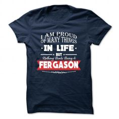 nice Its an FERGASON thing shirt, you wouldn't understand Check more at http://onlineshopforshirts.com/its-an-fergason-thing-shirt-you-wouldnt-understand.html