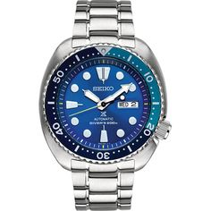 Seiko SRPB11K1 horloge - Blue Lagoon Turtle