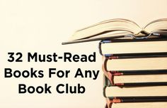 32 Must-Read Books For Any Book Club