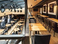 JazzClub#Kosice#pub#restaurant#InteriorDesign#InteriorDesignByOdette Jazz Club, Conference Room, Restaurant, Interior Design, Table, Furniture, Home Decor, Nest Design, Decoration Home