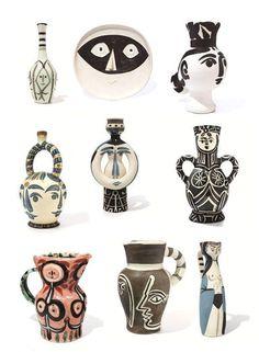 La produzione ceramica di Picasso!