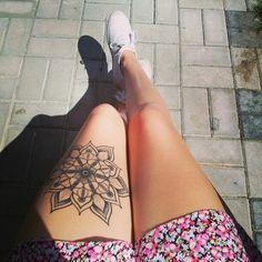 tattoo mandala dotwork