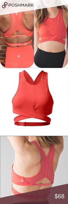 NWT CAPE LULULEMON YOGA HAVEN BRA WANDERLUST - - 4 Brand: Lululemon Athletica Yoga haven wanderlust Sport's bra           Condition: New with tag || Size 4 || CAPE orange    📌NO  TRADES  🛑NO LOWBALL OFFERS  ⛔️NO RUDE COMMENTS  🚷NO MODELING  ☀️Please don't discuss prices in the comment box. Make a reasonable offer and I'll either counter, accept or decline.   I will try to respond to all inquiries in a timely manner. Please check out the rest of my closet, I have various brands. Some new…