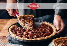 Brown Butter Pecan Pie- this recipe is perfect for fall and we love the crust!