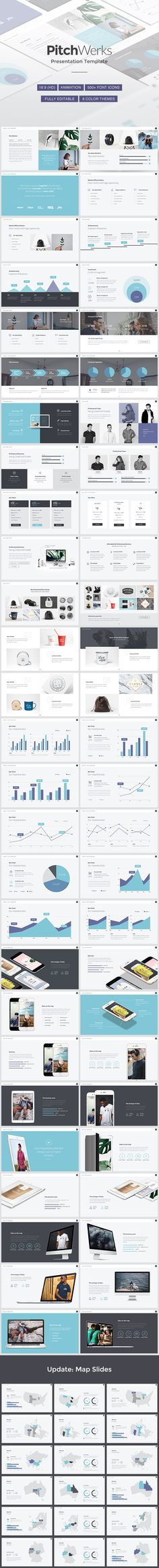 Professional Pitch Powerpoint Template