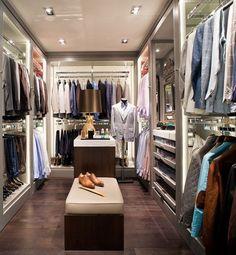 Before + After: Reader Closet Winner Luxury Interior, Interior Design, Luxury Furniture, Closet Designs, Walk In Closet Design, Masculine Style, Master Bedroom, Master Closet, Man Room