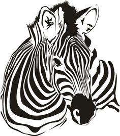 Zebra grande tatuaggio di adesivo vinile adesivo muro di Tibi291