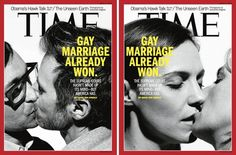 2 Couples, 2 Covers For Gay Marriage: Time (via @Out Magazine )