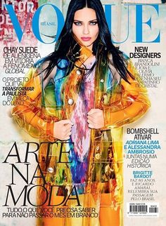Adriana Lima for Vogue Brazil - September 2014