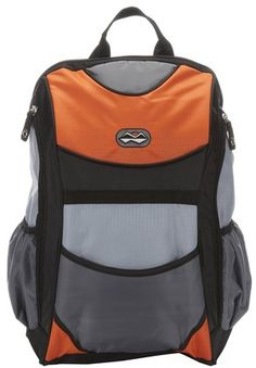 Baby Essentials Nylon Baby Backpack, Orange and Grey, (backpack diaper bag, skip hop diaper bag) Daddy Diaper Bags, Orange Backpacks, Baby Gadgets, Diaper Bag Backpack, Nylon Bag, Baby Time, Baby Essentials, Cool Baby Stuff, Baby Gear