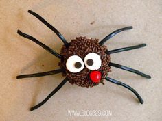 Cut the Rope Spider Cupcakes | Flickr - Photo Sharing!