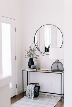Clean look to help you relax as you come home.