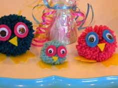 Singing In The Rain: Pom Pom Owls, Reverence, and Possible Nursery Fun
