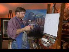 Sedona Canyon Part 1 out of 10 YarnellArt.com - @YouTube #Art