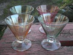 4 st glas på Tradera. Dricksglas | Bruksglas | Glas | Antikt & Design