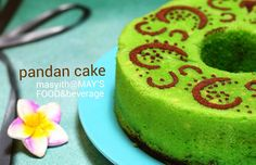 Receipe Pandan Cake Pandan Cake, Eat And Go, Birthday Cake, Cooking, Desserts, Food, Birthday Cakes, Meal, Kochen