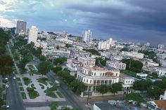 El Vedado one of the most well known areas in Havana.