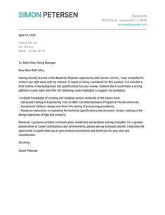 Cover Letter Samples Find Your Industry Cv Cover Letter Example, Good Cover Letter Examples, Simple Cover Letter, Cover Letter Tips, Free Cover Letter, Writing A Cover Letter, Cover Letters, Email Cover Letter