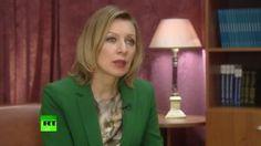 Мария Захарова пообещала ответить США в случае введения новых санкций (видео)
