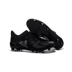 hot sale online b1e5f b5f73 Adidas X 16 Purechaos FG AG All Black Silver trainers