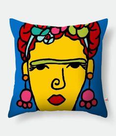 Almofada/Pillow Toranja - Frida by Isa Silva
