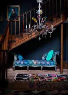 Matthew Williamson discusses his new furniture collection with Duresta, his fashion line and his bohemian home in Belsize Park Bespoke Furniture, Bed Furniture, Furniture Design, Upholstered Furniture, Matthew Williamson, Sofa Manufacturers, Boho Vintage, French Style Homes, Interior Decorating