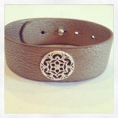 Leather bracelet by AroundMyWrist on Etsy, 19.95