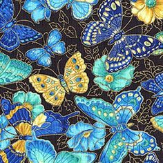 Butterfly Fabric