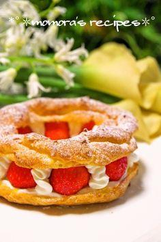 ホットケーキミックスで簡単お菓子♡パリブレスト♡母の日や父の日に by *ももら*さん   レシピブログ - 料理ブログのレシピ満載!