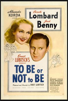 March 6 - Opened on this date in 1942: To Be Or Not To Be. #JackBenny #CaroleLombard