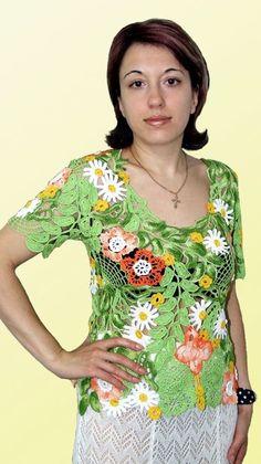 """Блузки ручной работы. Ярмарка Мастеров - ручная работа Блуза """"Хочу в деревню"""" мод.№49. Handmade."""