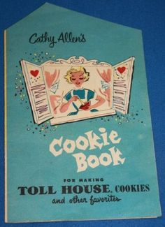 VINTAGE NESTLE COMPANY  COOKIE BOOK